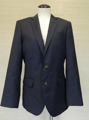 JCrew $425 Mens Ludlow 2 button Suit Jacket Worsted Wool 38s Navy blue