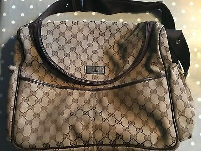 Gucci Supreme Canvas Baby Changing Bag