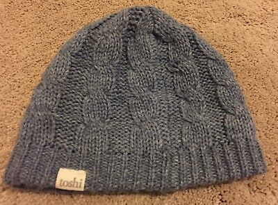 Toshi Blue Beanie Winter Hat Size S Small 8 Months - 2 Years