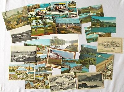 Collection of Vintage Postcards UK North West & Isle of Mann