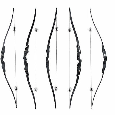 New 25-50# ILF Riser Target Hunting Bow Longbow Maple Core ILF Limbs For Archery