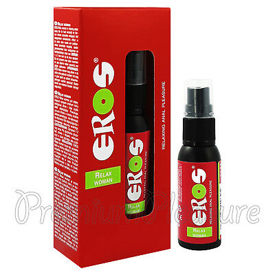 EROS Relax Woman spray for anal relaxation Stimulant Made in Germany x 30 ml