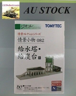 TOMYTEC N Scale #082 Steam Engine Facility Water & Coal Tower for model railway