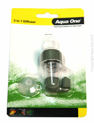 Aqua One C02 CARBON DIOXIDE Ceramic Diffuser Bubble COUNTER PLANT FERTILISER