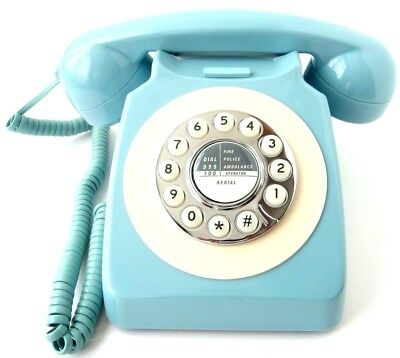 Benross Vintage Telephone Old Fashioned Phone Corded Telephone Desktop Phone New