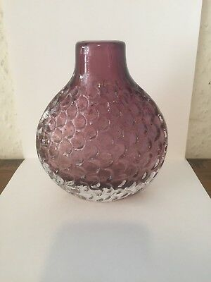 Beautiful Onion Vase In Purple Perfect Condition