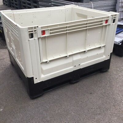 Heavy Duty Pallet Box - Plastic Storage Folding Pallet Container - Flc Grade A