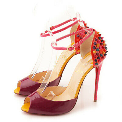 ec7d8f1a3f7 AUTHENTIC CHRISTIAN LOUBOUTIN Multi Spike Studs Sandals 3140431 Grade Ab  Used-At