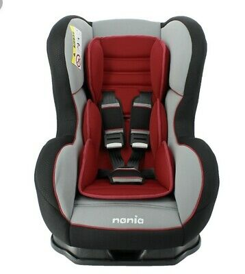 TT Nania Cosmo SP Group 0-1 Baby Child Recliner Car Seat SHADOW ROUGE RED