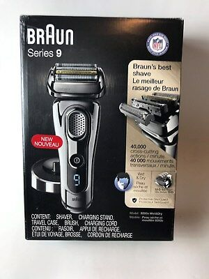 Braun Series 9 9293s Men's Electric Shaver Case with Charging Stand