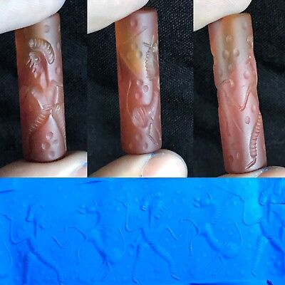 Wonderful Ancient Agate Stone Cylinder Seal