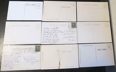 Nine Early 20Th Century York Beach Maine Post Cards,Beach,Inn,Coast,Hotels,Boats
