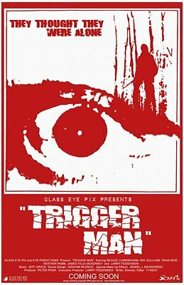 Trigger Man DVD R1 Horror **UNRATED**NEW**FREE POSTAGE**