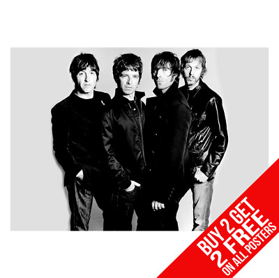 Oasis Poster Liam Noel Gallagher Cc5 Art Print A4 A3 Size - Buy 2 Get Any 2 Free