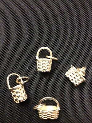 LONGABERGER Set of 4 Mini Basket Charms
