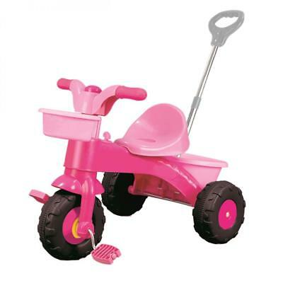 Dolu Toddler Girls My First Ride On Trike with Parent Handle Pink 2 Years +