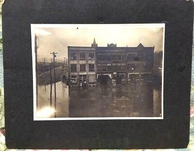 Great Flood of 1913 Photo~Ford City, Armstrong Co., Pennsylvania Photo~Drugstore