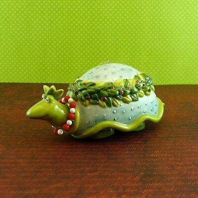 Krinkles TURTLE BELL ORNAMENT Patience Brewster Xmas Dept 56 NIB Retired