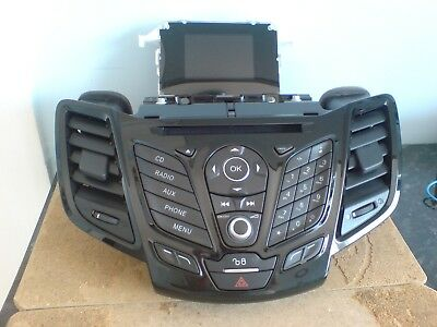 Ford Fiesta Radio Ng Ahu Car Stereo Radio Cd Player 2015 2016 2017