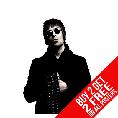 Liam Gallagher Oasis Poster Wall Art Print A4 A3 Size - Buy 2 Get Any 2 Free