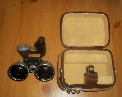 Steinheil Munchen STEREO REDUFOCUS 25mm Wide Angle Lens - with case