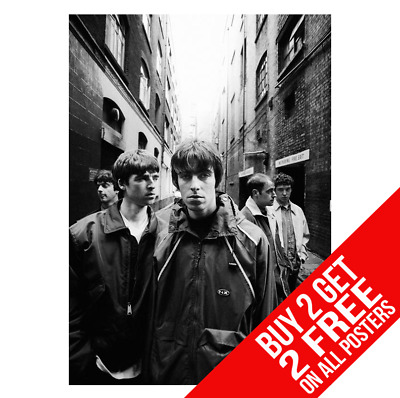 Oasis Poster Liam Noel Gallagher Cc4 Art Print A4 A3 Size - Buy 2 Get Any 2 Free