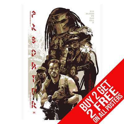 PREDATOR BB7 POSTER ART PRINT A4 A3 SIZE BUY 2 GET ANY 2 FREE