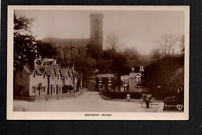 Wolverley Village - between Kidderminster & Stourbridge - real photographic p/c.