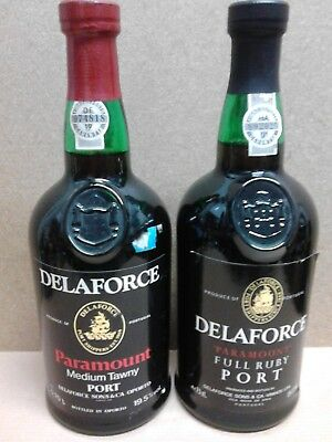 Delaforce Paramount Full Ruby Port und Paramount Medium Tawny Port