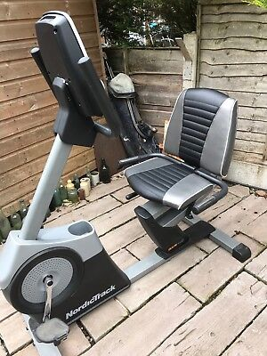 NordicTrack GXR 4.2 Recumbent Cycle (iFit Live compatable)