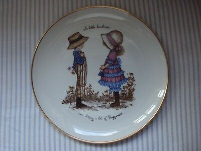 Holly Hobbie Large Decorative Plate Perfect Condition ~~ Very Collectible