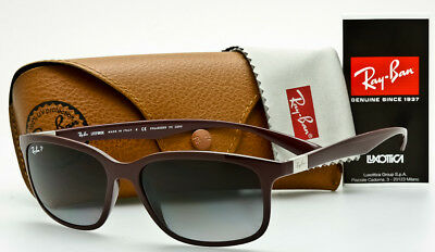 4367062248 RAY-BAN RB4215 6128 T3 LITEFORCE TECH Burgundy-Grey Gradient P3 POLARIZED  57mm