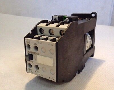 New Not In Box Siemens 3Tf4211-0B Contactor 24V Dc Coil