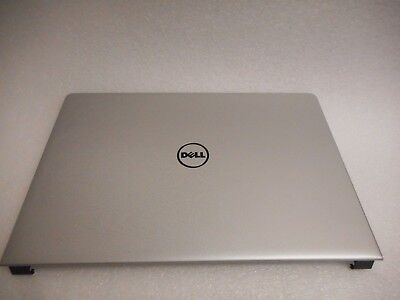 GENUINE DELL INSPIRON 15 5558 LCD BACK COVER LID SILVER NO HINGES 7NNP1 HIAA 11