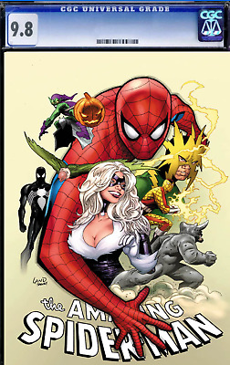 Amazing Spider-Man Vol 5 #1 Cover C Variant Greg Land Party Cover CGC 9.8