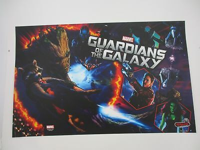 Stern Pinball Translite GoTG Guardians of the Galaxy Premium #830-52L7-00