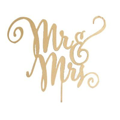 Mr Mrs Monogram Rustic Wood Wedding Engagement Cake Toppers Decoration (Woo A3Z2