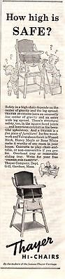 1945 Good Housekeeping Magazine Advertisement Thayer Hi-Chairs 1/3 Page Ad 340