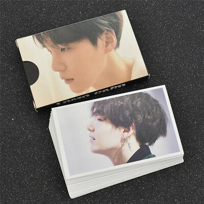 Kpop Star BTS Suga Love Yourself FAKE LOVE LOMO Cards Collections Paper Crafts