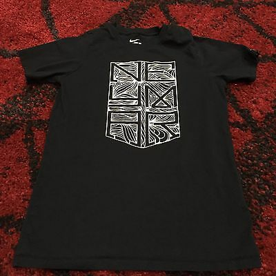 d7997cf0 KIDS BLACK THE Nike Tee Size Medium Used Athletic Cut - $4.25 | PicClick