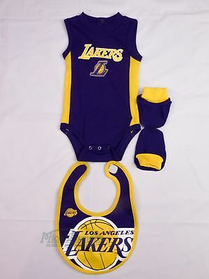 NEW Los Angeles Lakers Baby, Newborn and Infant Set