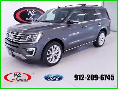 Ford Expedition Limited 2018 Limited New Turbo 3.5L V6 24V Automatic RWD SUV Premium