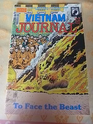 VIETNAM JOURNAL #8, To Face The Beast, DON LOMAX,  (1989) Apple Comics