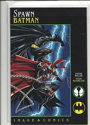 Spawn-Batman, Frank Miller, Todd McFarlane, Bag and boarded when new