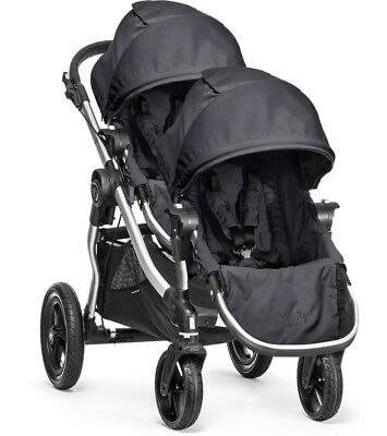 Baby Jogger City Select Double Stroller - Titanium New!!