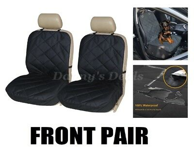 Quilted Car Rear Back Pet Dog Seat Cover Hammock For Mini Countryman