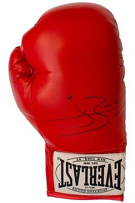 Conor Benn Signed Red Everlast Boxing Glove (Rh)