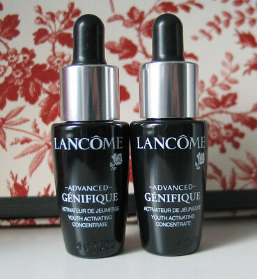 @ LANCOME Advanced Genifique Youth Activating Concentrate 2x 7ml Luxus neu @