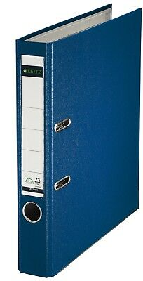 Leitz 180 Degrees Plastic Lever Arch File A4 50 mm - Blue, Pack of 10