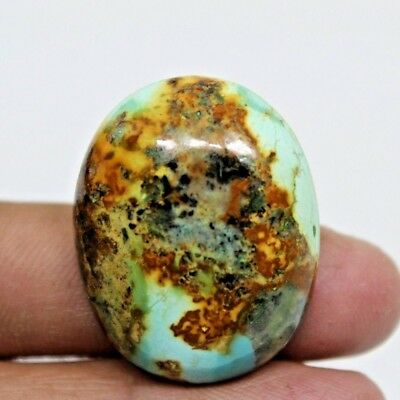 54.70 Cts NATURAL GENUINE TURQUISE CABOCHON OVAL SHAPE LOOSE GEMSTONES